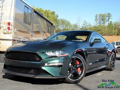 Dark Highland Green 2019 Ford Mustang Bullitt