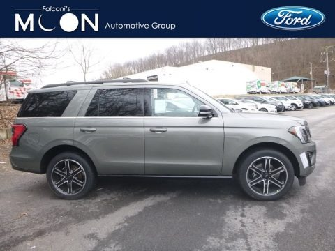 Ingot Silver Metallic 2019 Ford Expedition Limited 4x4