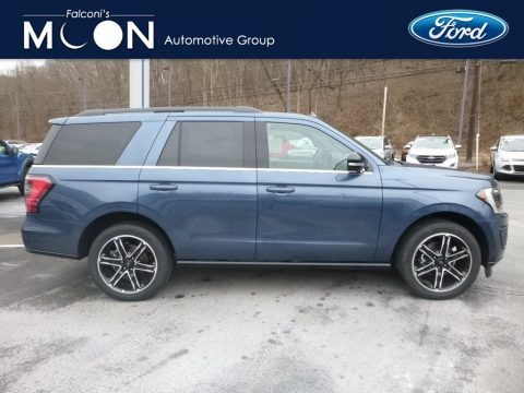 Blue Metallic 2019 Ford Expedition Limited 4x4