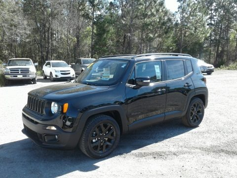 Black 2018 Jeep Renegade Altitude