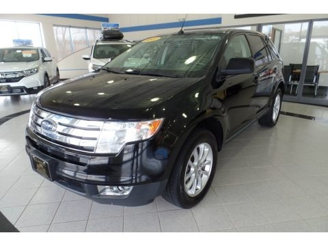 Black 2007 Ford Edge SEL Plus