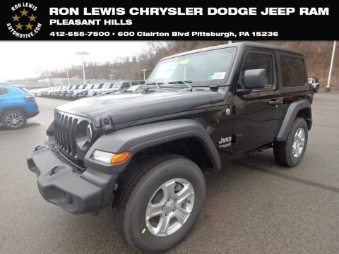 Black 2019 Jeep Wrangler Unlimited Sport 4x4