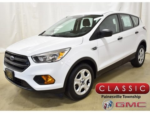 Oxford White 2017 Ford Escape S
