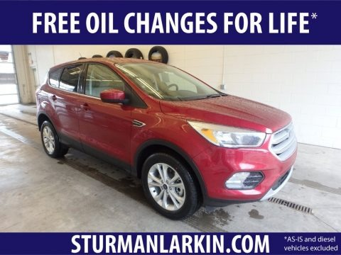 Ruby Red 2019 Ford Escape SE 4WD