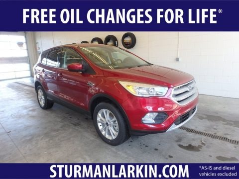 Ruby Red 2019 Ford Escape SEL 4WD