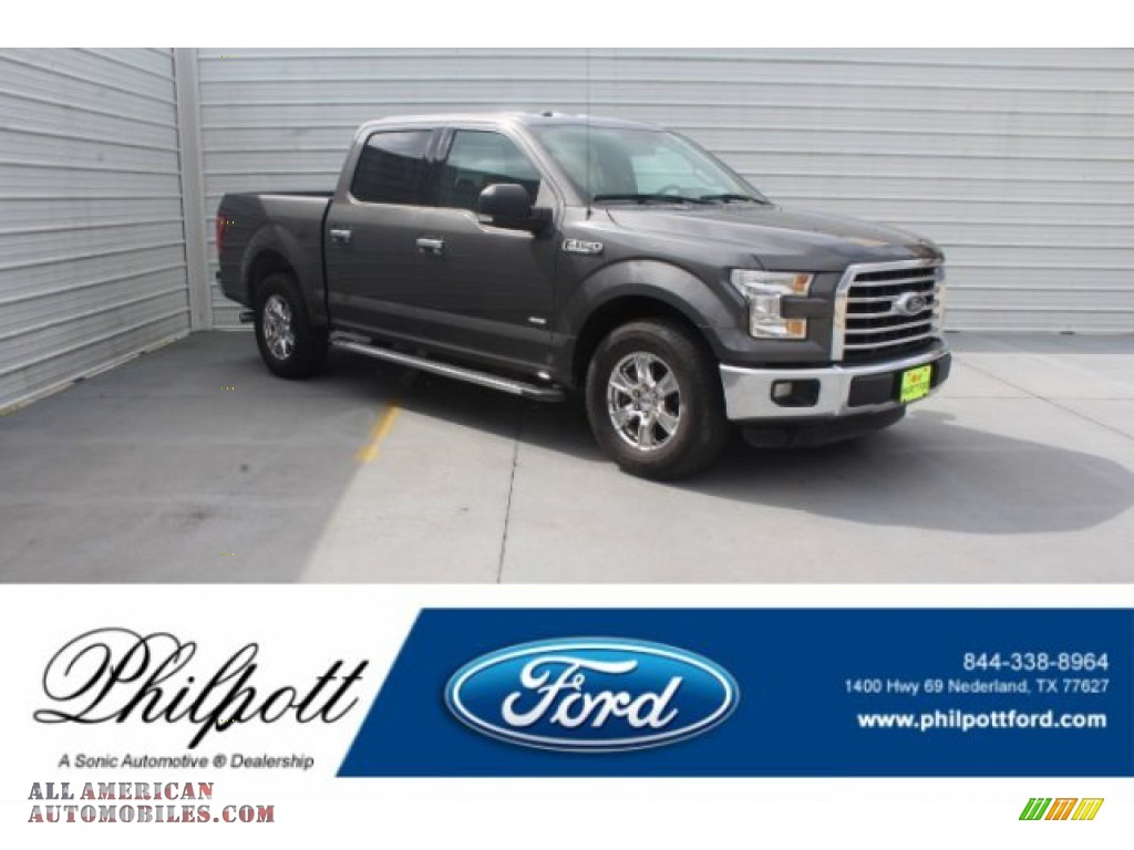Lithium Gray / Medium Earth Gray Ford F150 XLT SuperCrew