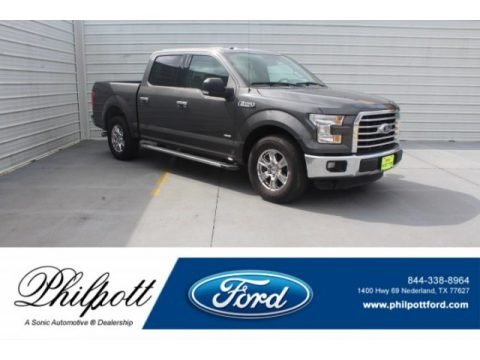 Lithium Gray 2016 Ford F150 XLT SuperCrew