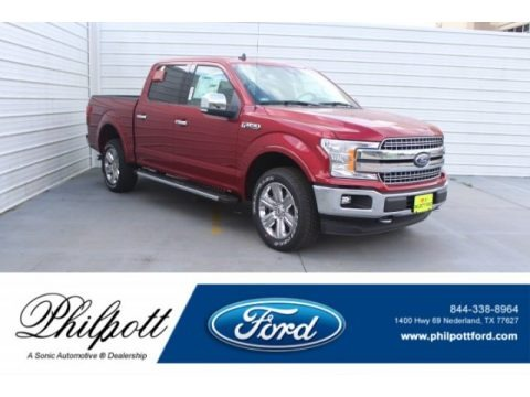 Ruby Red 2019 Ford F150 Lariat Sport SuperCrew 4x4