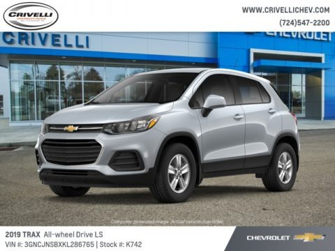 Silver Ice Metallic 2019 Chevrolet Trax LS AWD