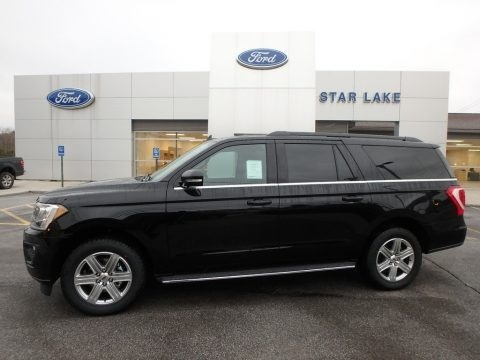 Agate Black Metallic 2019 Ford Expedition XLT Max 4x4