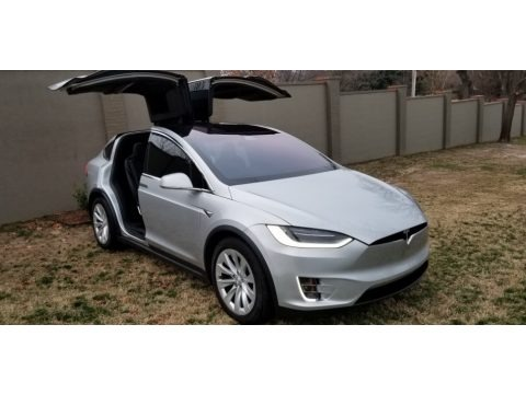 Silver Metallic 2018 Tesla Model X 100D