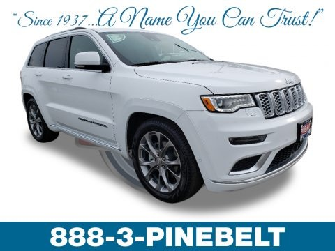 Bright White 2019 Jeep Grand Cherokee Summit 4x4