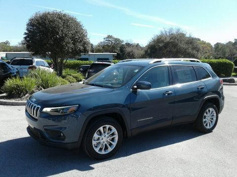 Blue Shade Pearl 2019 Jeep Cherokee Latitude
