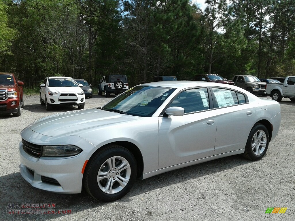 2019 Charger SXT - Triple Nickel / Black photo #1