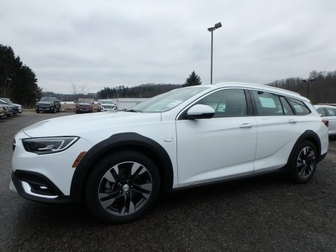 Summit White 2019 Buick Regal TourX Essence AWD