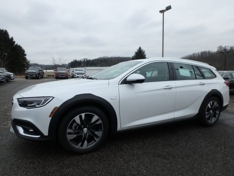 White Frost Tricoat 2019 Buick Regal TourX Essence AWD