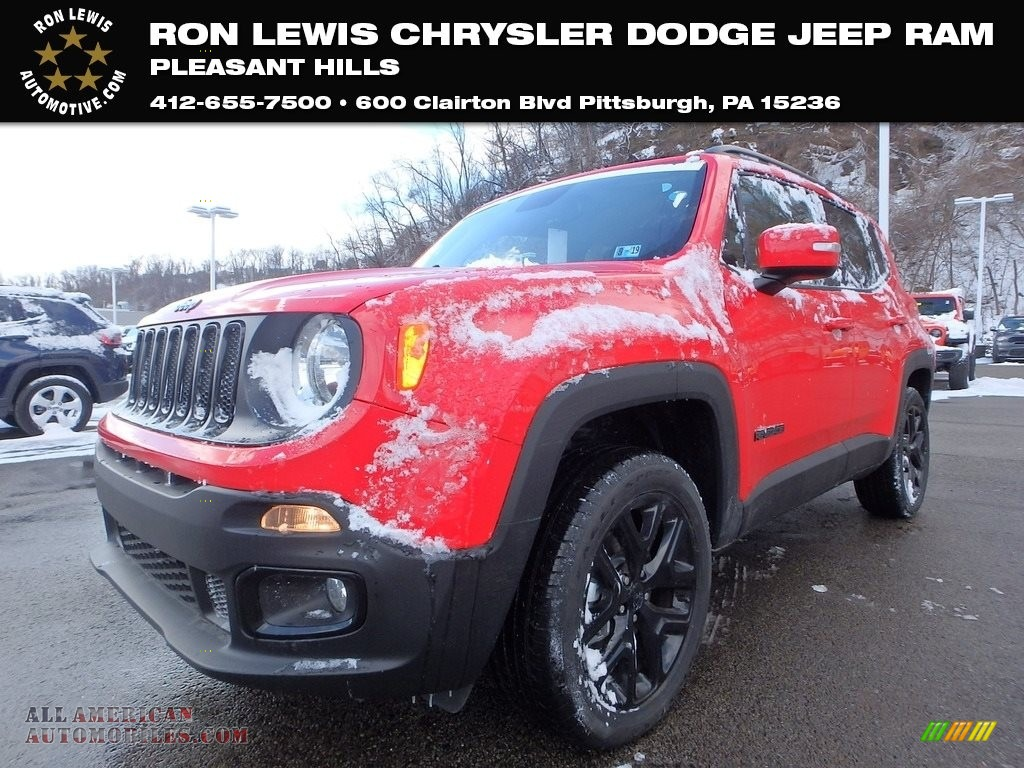 Colorado Red / Black Jeep Renegade Latitude 4x4