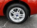 Ford Fiesta SE Sedan Hot Pepper Red photo #20
