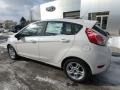 Ford Fiesta SE Hatchback White Platinum photo #8