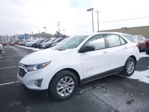 Summit White 2019 Chevrolet Equinox LS
