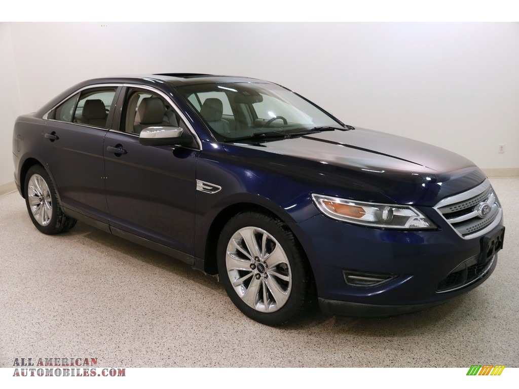 Kona Blue / Light Stone Ford Taurus Limited