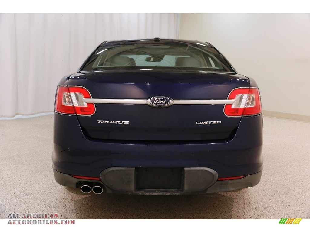 2011 Taurus Limited - Kona Blue / Light Stone photo #20