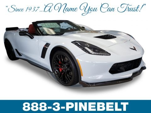 Arctic White 2019 Chevrolet Corvette Z06 Convertible
