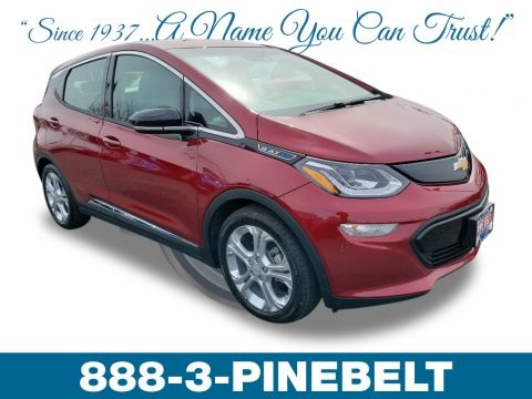 Cajun Red Tintcoat 2019 Chevrolet Bolt EV LT
