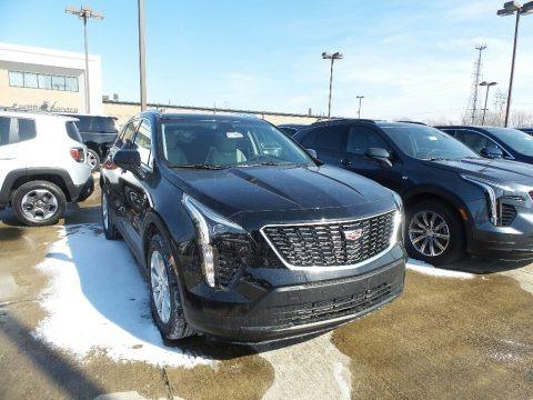 Stellar Black Metallic 2019 Cadillac XT4 Luxury AWD