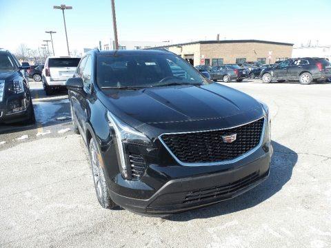 Stellar Black Metallic 2019 Cadillac XT4 Sport AWD