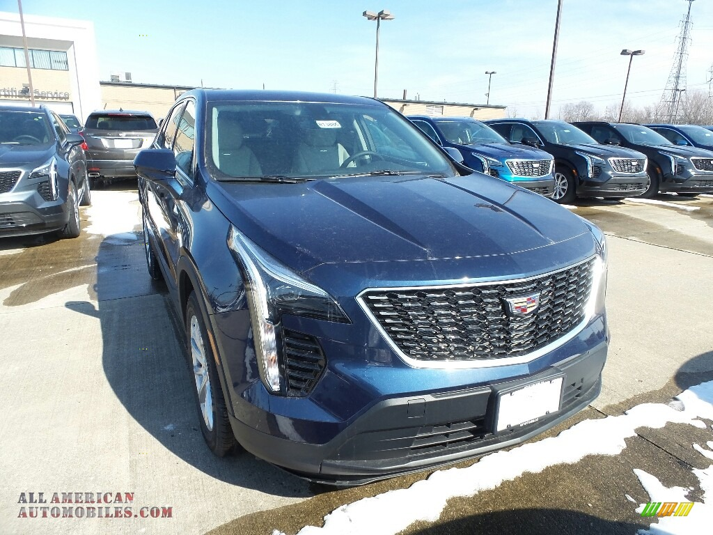 2019 XT4 Luxury AWD - Twilight Blue Metallic / Light Platinum/Jet Black photo #1