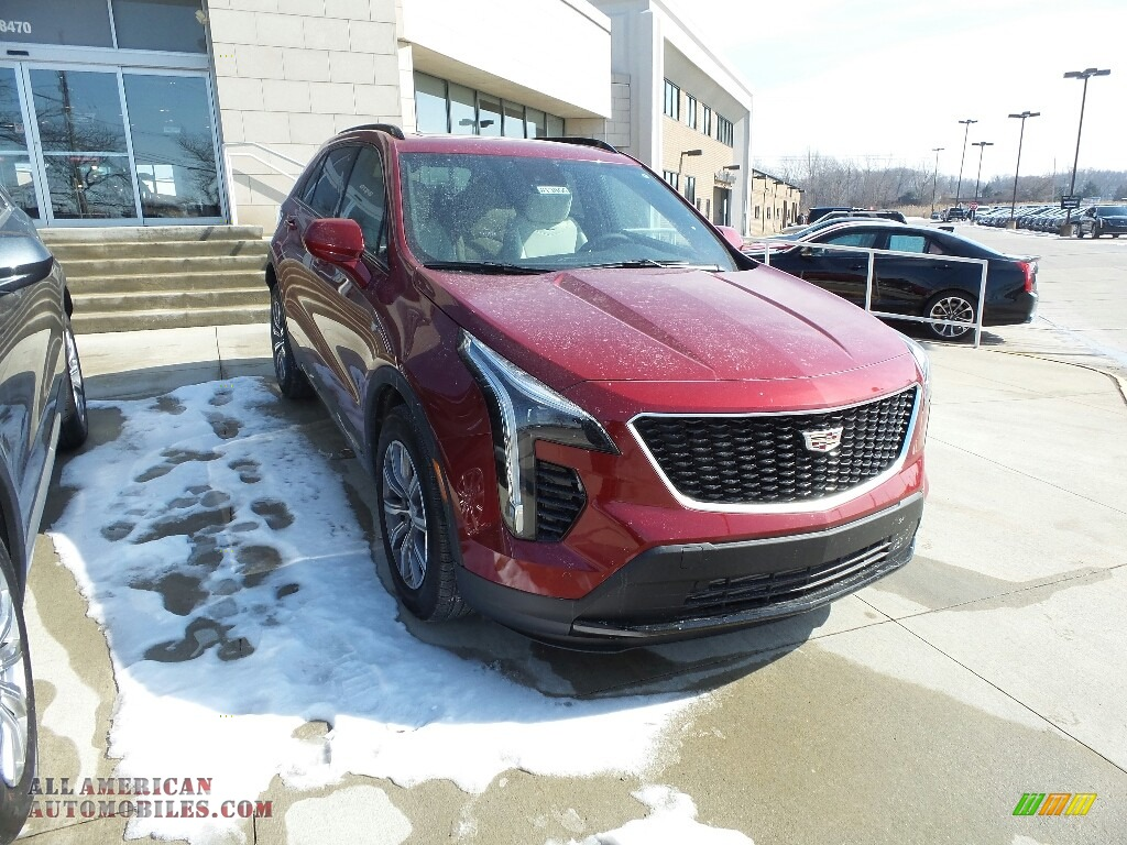 2019 XT4 Sport AWD - Red Horizon Tintcoat / Light Wheat/Jet Black photo #1