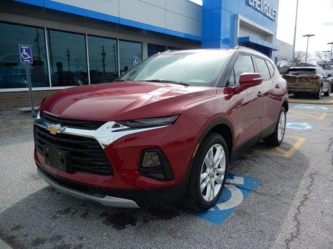 Cajun Red Tintcoat 2019 Chevrolet Blazer 3.6L Cloth