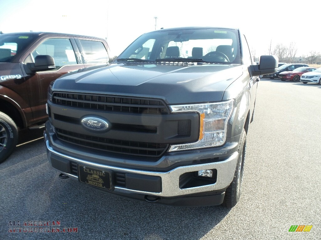 Magnetic / Earth Gray Ford F150 XLT Regular Cab 4x4