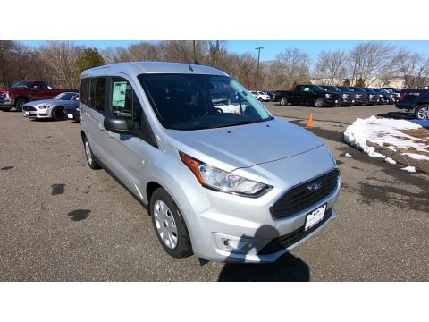 Ingot Silver 2019 Ford Transit Connect XLT Passenger Wagon