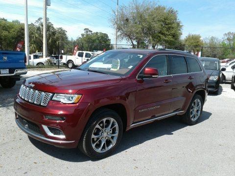 Velvet Red Pearl 2019 Jeep Grand Cherokee Summit 4x4