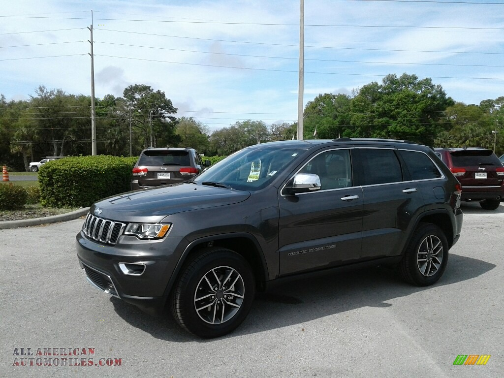 2019 Grand Cherokee Limited - Granite Crystal Metallic / Light Frost Beige/Black photo #1