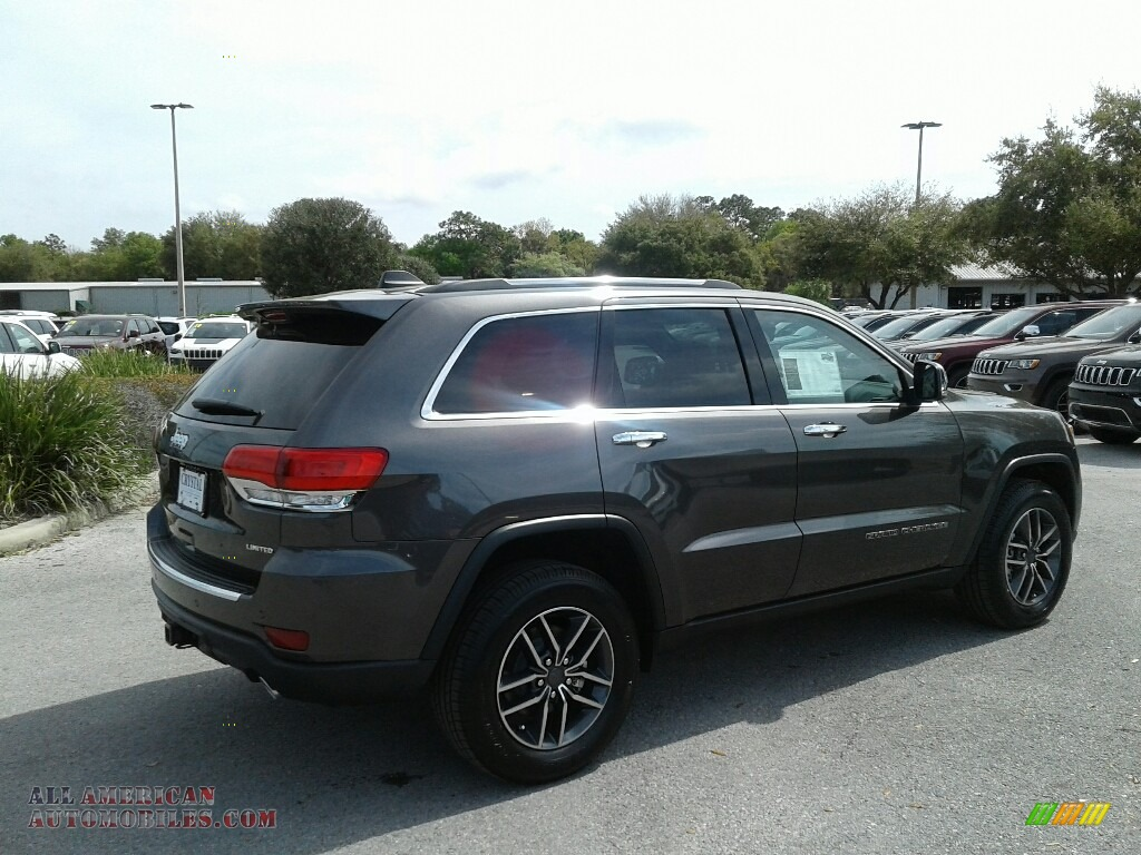 2019 Grand Cherokee Limited - Granite Crystal Metallic / Light Frost Beige/Black photo #5
