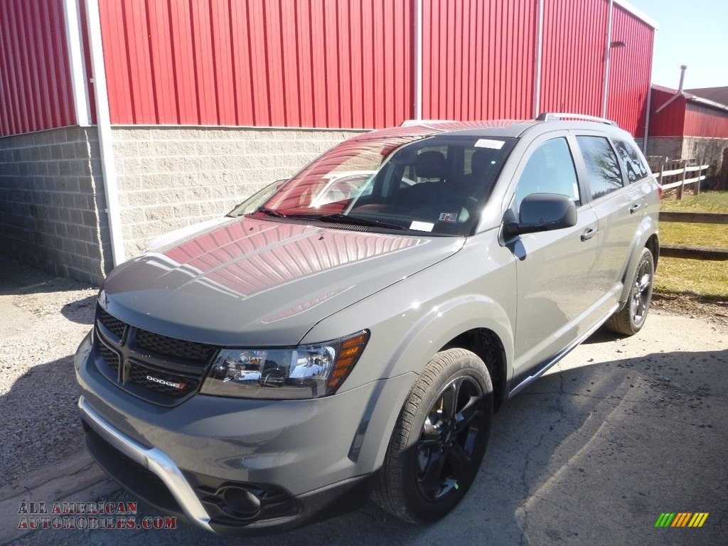 2019 Journey Crossroad AWD - Destroyer Gray / Black photo #1