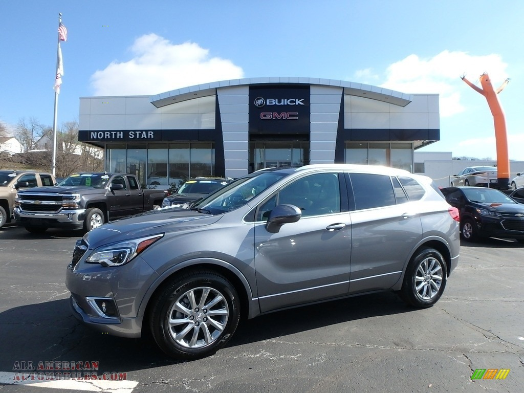 2019 Envision Essence AWD - Satin Steel Gray Metallic / Ebony photo #1