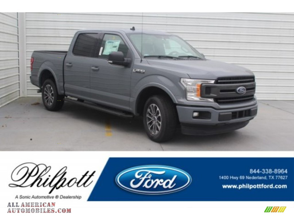 2019 F150 XLT SuperCrew - Abyss Gray / Black photo #1