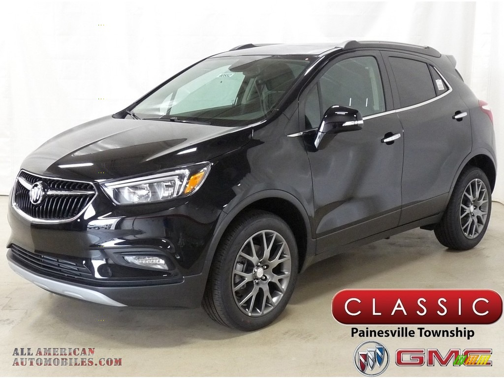 2019 Encore Sport Touring AWD - Ebony Twilight Metallic / Ebony photo #1