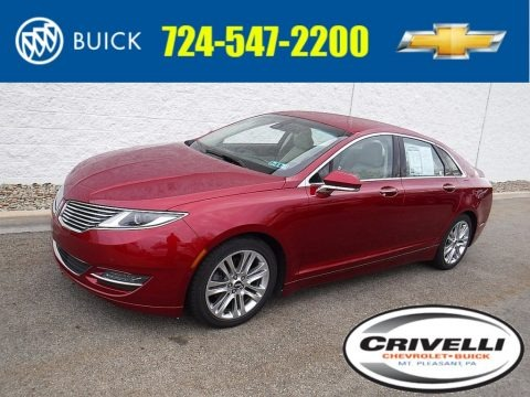 Ruby Red 2013 Lincoln MKZ 3.7L V6 FWD