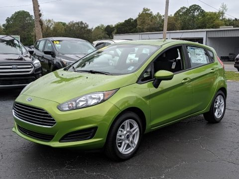 Outrageous Green 2019 Ford Fiesta SE Hatchback