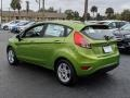 Ford Fiesta SE Hatchback Outrageous Green photo #3