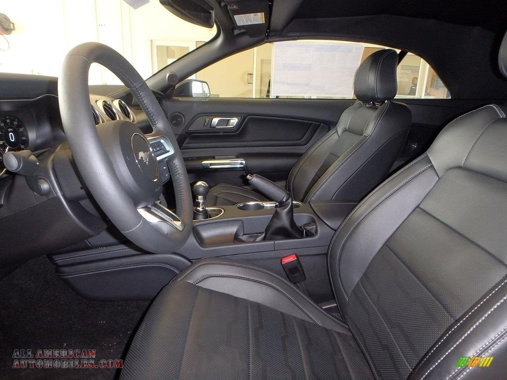 2019 Mustang GT Premium Convertible - Shadow Black / Ebony photo #6