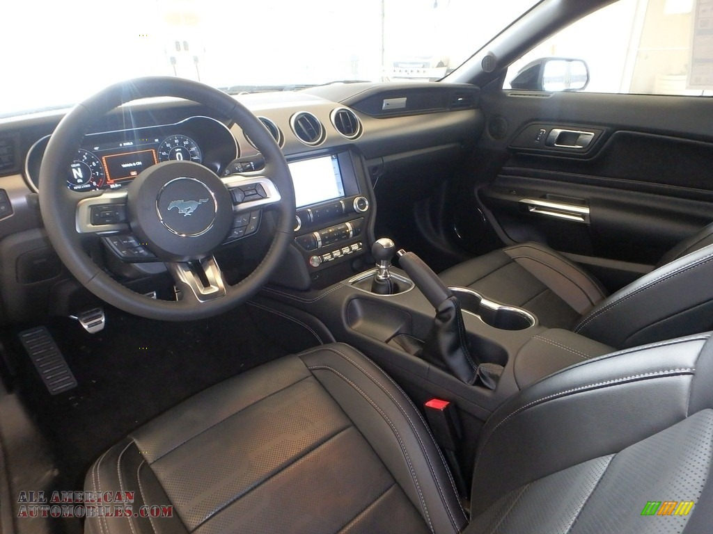 2019 Mustang GT Premium Convertible - Shadow Black / Ebony photo #8