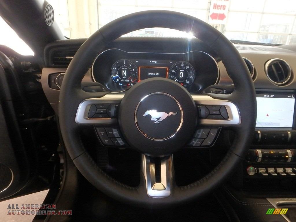 2019 Mustang GT Premium Convertible - Shadow Black / Ebony photo #13