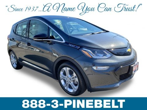 Nightfall Gray Metallic 2019 Chevrolet Bolt EV LT