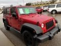 Jeep Wrangler Unlimited X 4x4 Flame Red photo #7